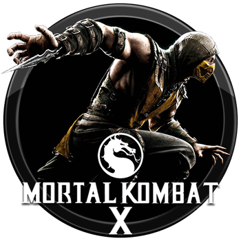 Mortal Kombat X Icon v3 by andonovmarko