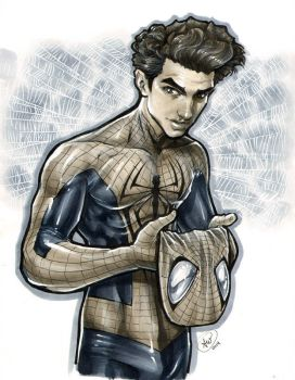 The Amazing Spider-Man by AdamWithers