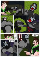 Fourarm's Escape... Page 4 by haggith on DeviantArt  Ben Muscle Growth