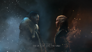 Game of Thrones : The Dragon and the Wolf by ExoticGeneration21