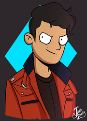 Mah Bro in Final Space style by VioletTrinity
