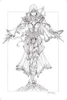 Assassin's Creed Pencils by jamietyndall