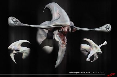 zXenoraptor from Pitch Black by dopepope