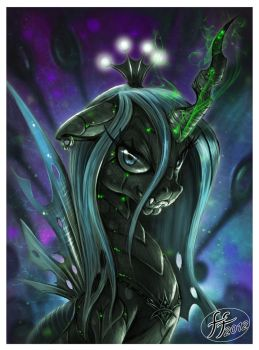Queen Chrysalis by 14-bis