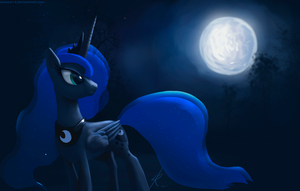 Princess Luna by Montano-Fausto