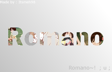 Romano background thingy by Itsmeh98