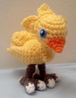 Amigurumi Crochet Chocobo Doll by fyre-fly