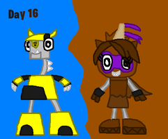 Mixels: Halloween Day 16 by Luqmandeviantart2000