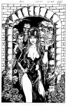 Elvira Monster Party by KenHunt