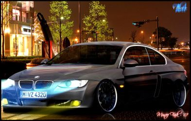 BMW E90 'Three' by MoncefFaik