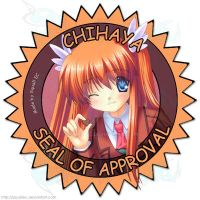 Chihaya Seal of Approval by SquallEC