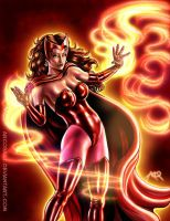 Commission: Scarlet Witch by ArcosArt
