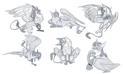 Bealluerah Sketch Page by Emone