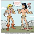 When Conan Met He-Man by BillWalko