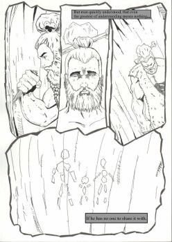 A Caveman's Story Page 2 by StacyBuckWritin