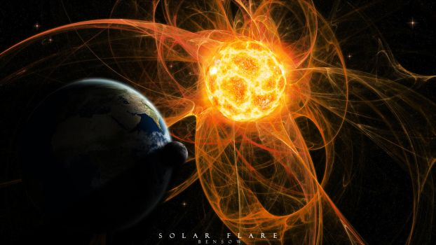 Solar Flare by BenSow