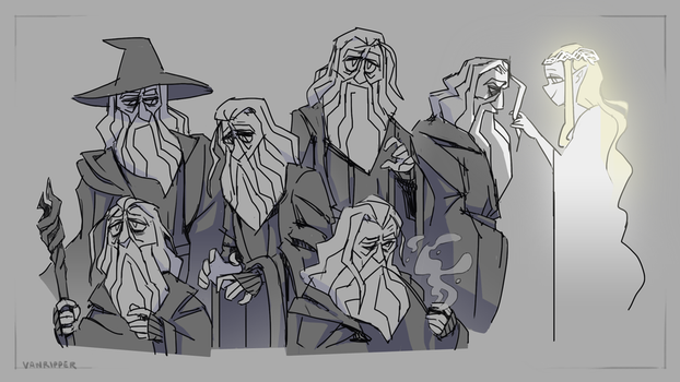 gandalf by VanRipper