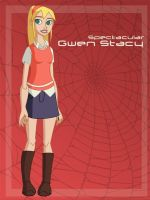 Spectacular Gwen Stacy by Glee-chan