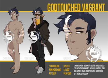 [ADOPT] Godtouched Vagrant [CLOSED] by junijwi