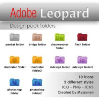 Adobe Leopard folders by Myssynen