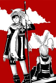 +DGM:angels in black 2+ by Jack666rulez