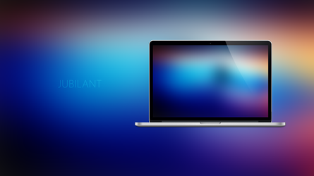 JUBILANT - Coloured Expressions Wallpapers by Ecstrap