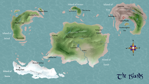 Map of the Islands by KASAnimation