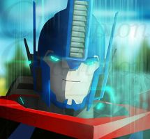 TF RID - Optimus Prime The Matrix is calling. by Championx91