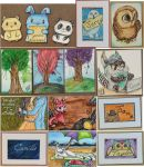 World Watercolor Month 2017 - Part 2 by ParadoxSketchbook