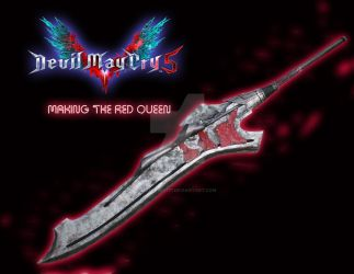 devil may cry 5-making the red queen sword by mizueyes777