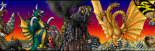 Panoramic Mayhem colored by AlmightyRayzilla
