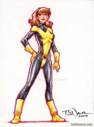 Kitty Pryde by ToddNauck