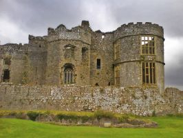 Castle Carew in Wales by HexeMistelzweig
