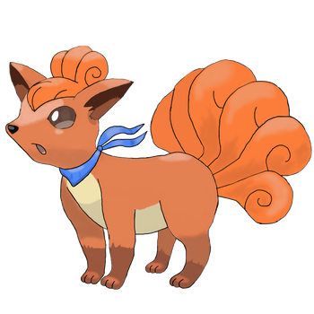 Vulpix1_'Pokemon'_MD Style by Foxie-The-Vulpix