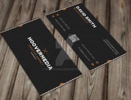 Hoover Creative Business Card by GreyFoxGR