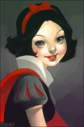 snow white by loish