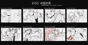 Kiss Meme I think : TheDerpsEdition by ijuraru