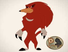 Knuckles The Echidna by purapuss