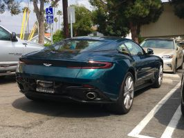BRG Aston Martin DB11 in the wild by Partywave