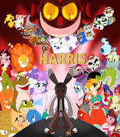 Harris Comic Cover