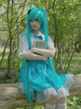 Vocaloid cosplay by sebastian6michaelis