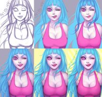 Me!Me!Me! process by CloveCake