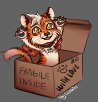 Fragile inside by lizathehedgehog
