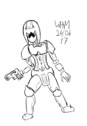 June Self Challenge - Daily Sketch - 24/30 by WHAMtheMAN