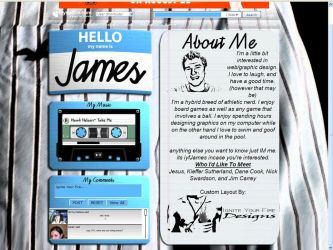 Hello My Name Is: James by JamesDWagner