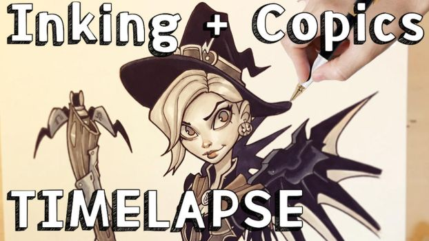 Witch Mercy Timelapse by ChrissieZullo