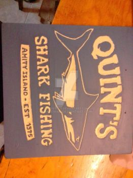 Quint's shark fishing by FaDemian