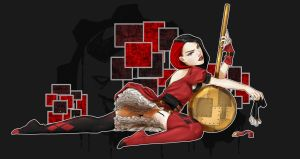 SP Pin Up Harley by Bostonology