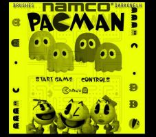 PACMAN brushes by darkonelh