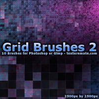 Grid 2 Brushes by AscendedArts